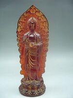 18 cm * / Chinese manual sculpture rare amber, Buddha had the figure of Buddha