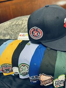 Hat Club Exclusive Yote Minnesota Twins Jae Tips New Era Fitted sz 7 Infrared