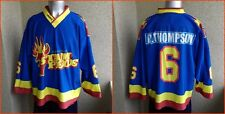 Sheffield Steelers ENGLAND HOCKEY JERSEY 3XL SHIRT RARE RHINO # 6  THOMPSON
