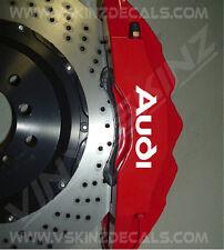 Audi Logo �œberlegen Guss Bremssattel Aufkleber TT RS A3 A4 A5 A6 A8 Q3 Quattro