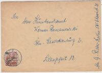 Germany 1949 Berlin Overprint Berlin Cancel Stamps Cover Ref 24076