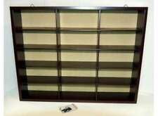 Atlas Wood Display Cabinet Wash 15 Compartments for Models 1:43 Brand New Boxed
