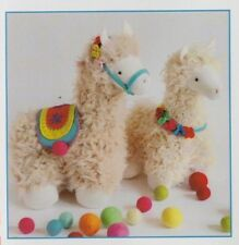 PATTERN - Tassel & Pom - cute llamas softie/toy PATTERN - Ric Rac