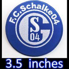 FC Schalke 04 Embroidered Iron Patch GERMANY German Football Soccer Bundesliga