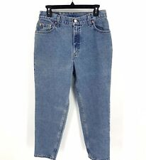 Levis Vintage 550 High Waisted Relaxed Tapered Leg Mom Jeans Size 10 Short USA
