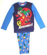 Marvel Avengers Assemble Boy's Kids Pajama 2 Piece Set Age 11/12 NWT