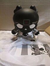 "Kidrobot 8"" Huck Gee Skullhead Dunny Black Edition only 2011"