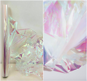 Clear Iridescent Cellophane Wrapping Gift Paper Cello Birthday Hamper Wrap film