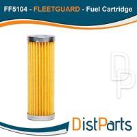 FF5104 Fleetguard Fuel Cartridge (Pack of 2), Replaces Kubota 1532146563