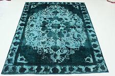 DESIGN VINTAGE délavé USED LOOK PERSAN TAPIS tapis d'Orient 3,64 x 2,87