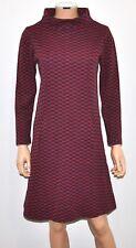 VTG 60'S ALVIN DUSKIN SAN FRANCISCO Checkered Knit Mod Dress RARE COLLECTABLE!