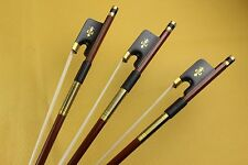 7 pcs New professional 4/4 Superior Brazilwood Cello Bows ebony frog