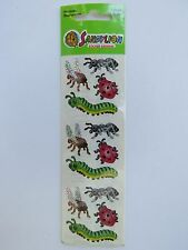 SandyLion STICKERS ~ INSECTS, BUGS: Catapillar, Lady Bug, Wasp, Fly, Honey Bee