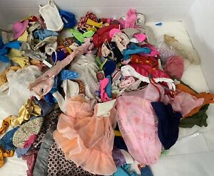 Vintage Barbie and Clone Clothes Shoes Accessories Lot 70's 80's 240 pieces