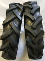 6.50-16, 6.50x16 (2 TIRES + 2 TUBES)6 PLY KNK50 Farm Tractor Tires W/Tube