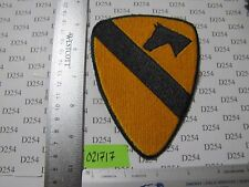 Army 1st Cav Cavalry Division Patch full Color shoulder SSI Vietnam WW2 Korea