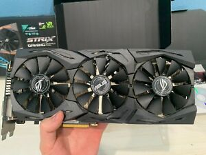 ASUS GeForce GTX 1080 ROG Strix 8GB, Great Condition with box+manual. Ships FAST