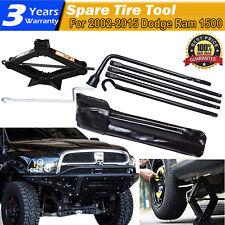 Tools Set For Dodge Ram 1500 02-15 Spare Tire Lug Wrench And 2 Ton Scissor jack