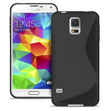 S-line Shockproof Case For Samsung Galaxy S5 Mini Thin Cover Skin Black