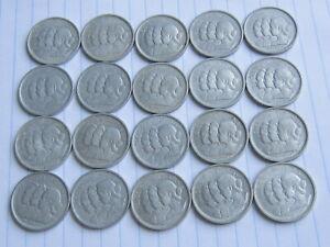 Lot of 20 pcs x 10 Xu South Viet Nam Coins 1953 (See Photos) #B345