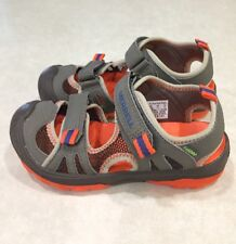 "MERRELL OUT.PERFORM ""Hydro Rapid"" Youth Boy's Green/Orange Sandals~~Size 13M"