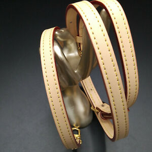 "37-47"" Natural Vachetta Adjustable Shoulder Strap Replacement For Louis Vuitton"