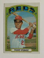 1972 Topps Tony Perez # 80 Baseball Card Cincinnati Reds HOF