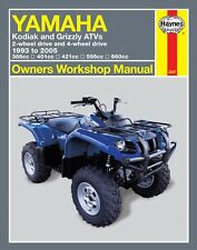 Yamaha Kodiak Grizzly 400 450 600 660 ATV Quad REPAIR MANUAL 2567