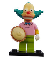 Lego Simpsons Krusty der Clown Minifigur (colsim-8) Neu Minifig New