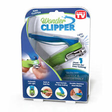 Wonder Clipper Nail Clipper Swivel Head Led Lighted Extra Long Handle Brand New