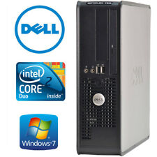 Dell Windows 7 Professional 32-Bit Desktop Computer 4GB 250GB  DVD Burner