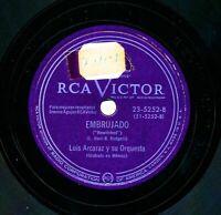 LUIS ARCARAZ y su Orquesta on RCA Victor 23-5252 - Embrujado / Johnson Rag