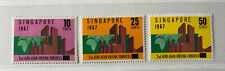 SINGAPORE 80 - 82 Beautiful Mint NEVER Hinged Set