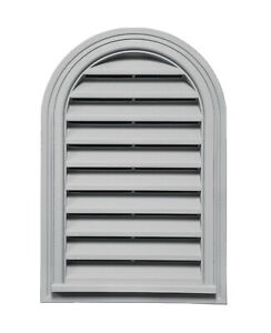 Round Top Exterior Wall Vent 14″/356mm x 22″/559mm