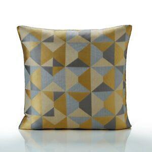 "Skandi Geometric Cushion Covers 3 Colours 17"" & 22"",Also Filled Cushions"