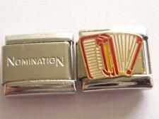 UNBRANDED MUSIC ACCORDION CHARM + GENUINE ITALIAN CHARM CLASSIC C7