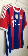 Bayern Munich 14/15 Adidas Jersey MEDIUM