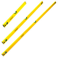 STANLEY STA998390 CLASSIC 3 PIECE LEVEL PACK SET -  6FT 1800, 4FT 1200 & 2FT 600