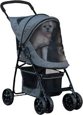 Pet Stroller for Cats/Dogs,Easy Fold,Removable Liner,Storage Sz-22 x 11 x 16 Inc