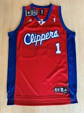 Vintage NBA Authentic Baron Davis LA CLIPPERS Signed Swingman Jersey SEWN L