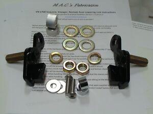 Kawasaki Vulcan VN 1700 Vaquero Lowering link kit 10 11 12 13 14 15 16 17 18 19