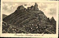 Ansichtskarte PK sw Riesengebirge Schneekoppe Schlesien Polen gelaufen 1913