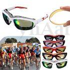 Nuovo Uomo Donna Sports Occhiali da Sole Bici Bicicletta Protezione UV400 Lente