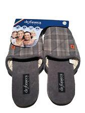 DE FONSECA ciabatte,pantofole UOMO mod MILANO M523 GRIGIO INVERNO slippers 43/44