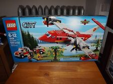 LEGO CITY FIRE PLANE, KIT #4209, 522 PIECES, NEW IN BOX, 2012
