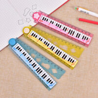 1Pc Plastic Folding Straight Rulers 30Cm Music Style Drawing Design Ruler
