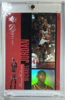 Rare: 1996-97 Upper Deck UD SP PREMIUM COLLECTION HOLOVIEW Michael Jordan #PC5