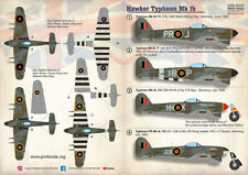 Print Scale Decals 1/72 Hawker Tyhoon Mk.Ib # 72415