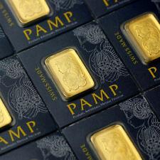 Pamp Suisse Fortuna Multigram 1 Gramm 999 Gold Goldbarren mit Zertifikat