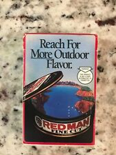 Vintage 1991 Red Man Fine Cut Promotional Chewing Tobacco Playing Cards in Box